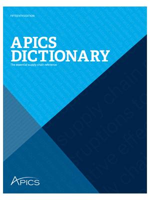 Apics Dictionary Pdf