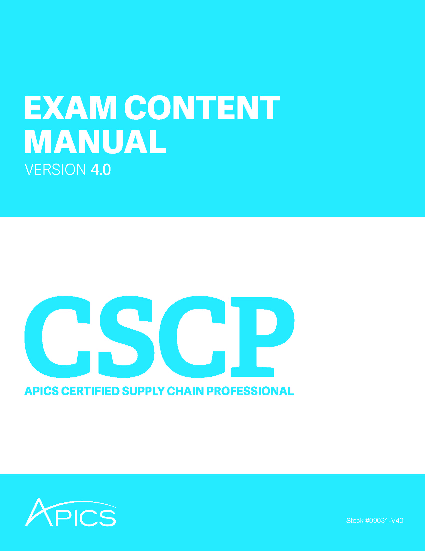 Edownload apics cscp exam content manual version 40 xflitez Gallery