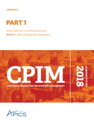 APICS CPIM Part 1 Learning System