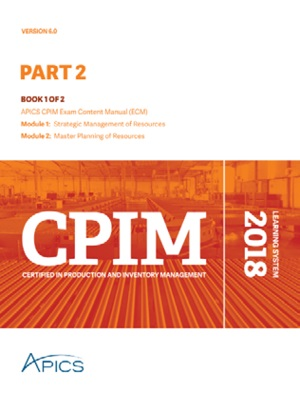 APICS CPIM Part 2 Learning System