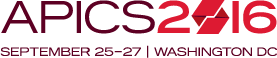 APICS 2016 | September 25-17 | Washington DC