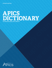 APICS Dictionary Cover
