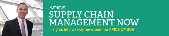 APICS Supply Chain Management Now: Insights into weekly news and the APICS OMBOK