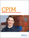 CPIM: APICS Certified in Production and Inventory Management