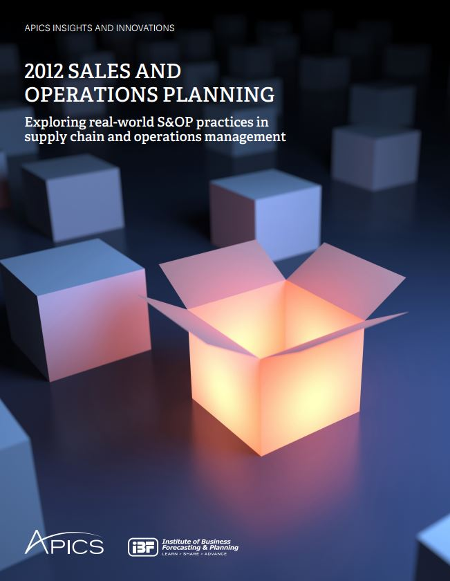 Sales and Operations Planning Report