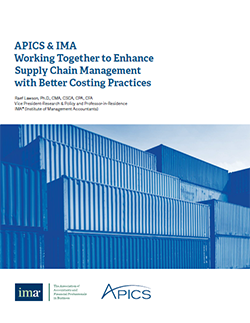 Working Together to Enhance Supply Chain Management with Better Costing Practices