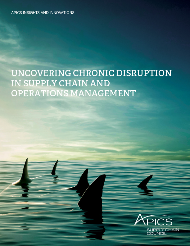 Chronic Disruption Report