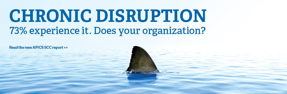 Chronic Disruption - 73% experience it. Does your organization?