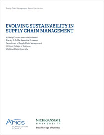 Research papers on supply chain management