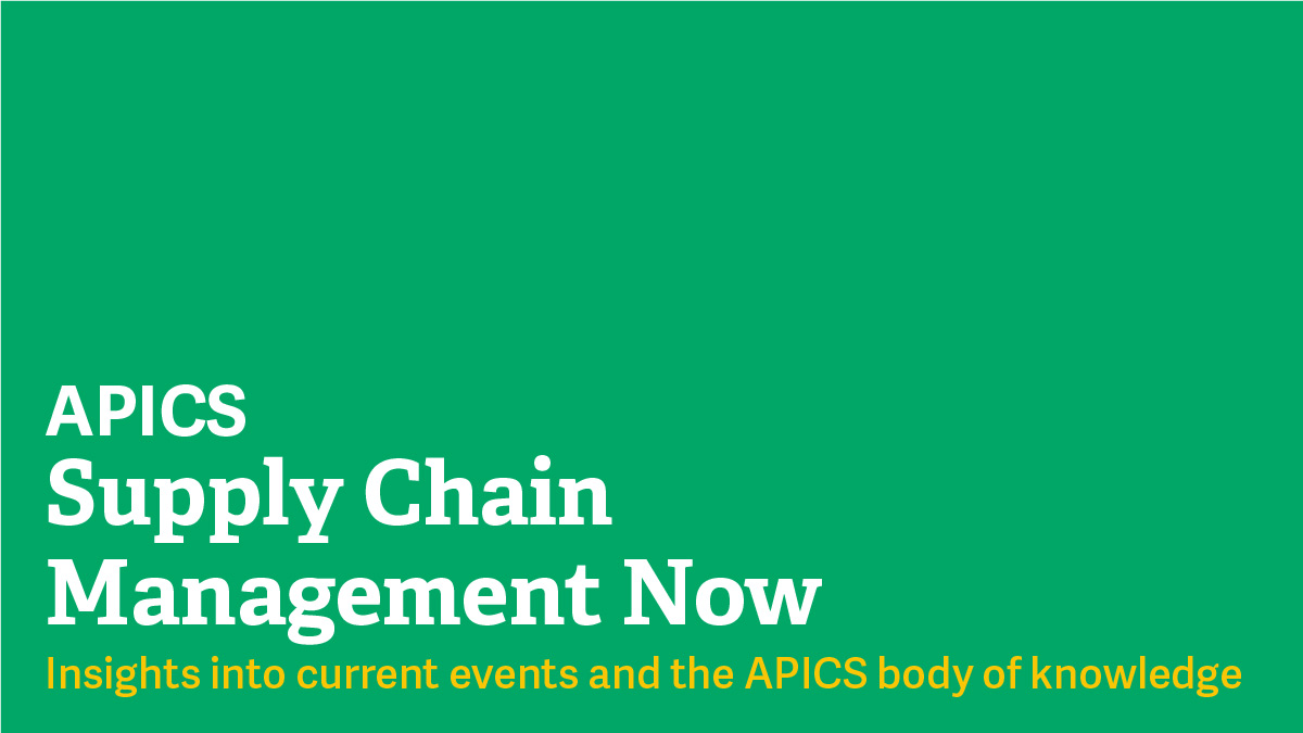 APICS-Supply-Chain-Management-Now
