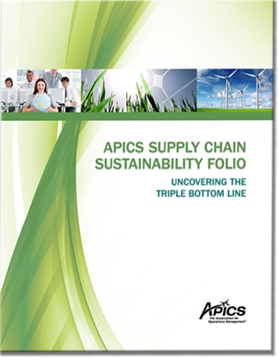 APICS Supply Chain Sustainability Folio