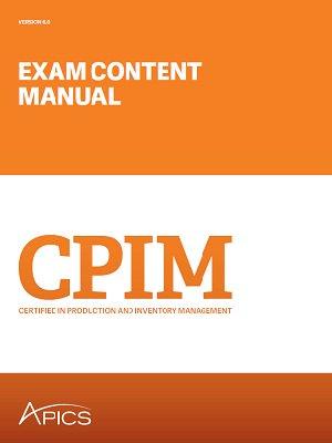 edownload apics cpim exam content manual version 6 0 rh apics org APICS CPIM Exam Schedule APICS CPIM Exam Schedule