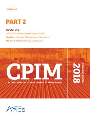 APICS CPIM Part 2 Learning System