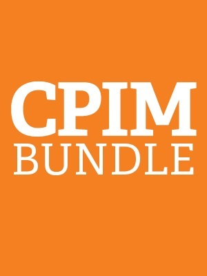 APICS CPIM Bundle. Part 1 and Part 2 Exams and Learning Systems
