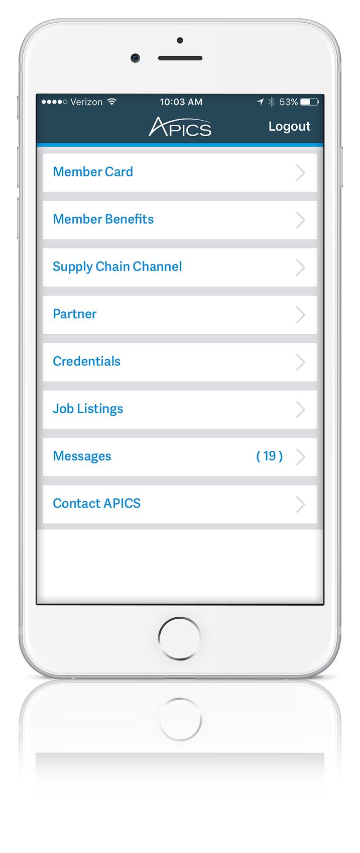 Apics membership app screenshot20170213 102443 apics for individuals xflitez Choice Image