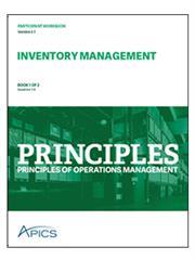 Inventory Management Education   APICS Principles Program