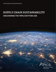 Supply Chain Sustainability Report